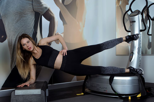 powerplate im Sculpt Fitness